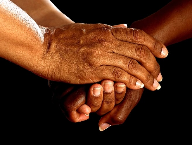 shaking hands, friendship - how do you know if someone loves you without saying it
