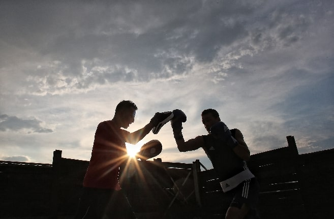 marriage is like boxing. learning how to work on your marriage